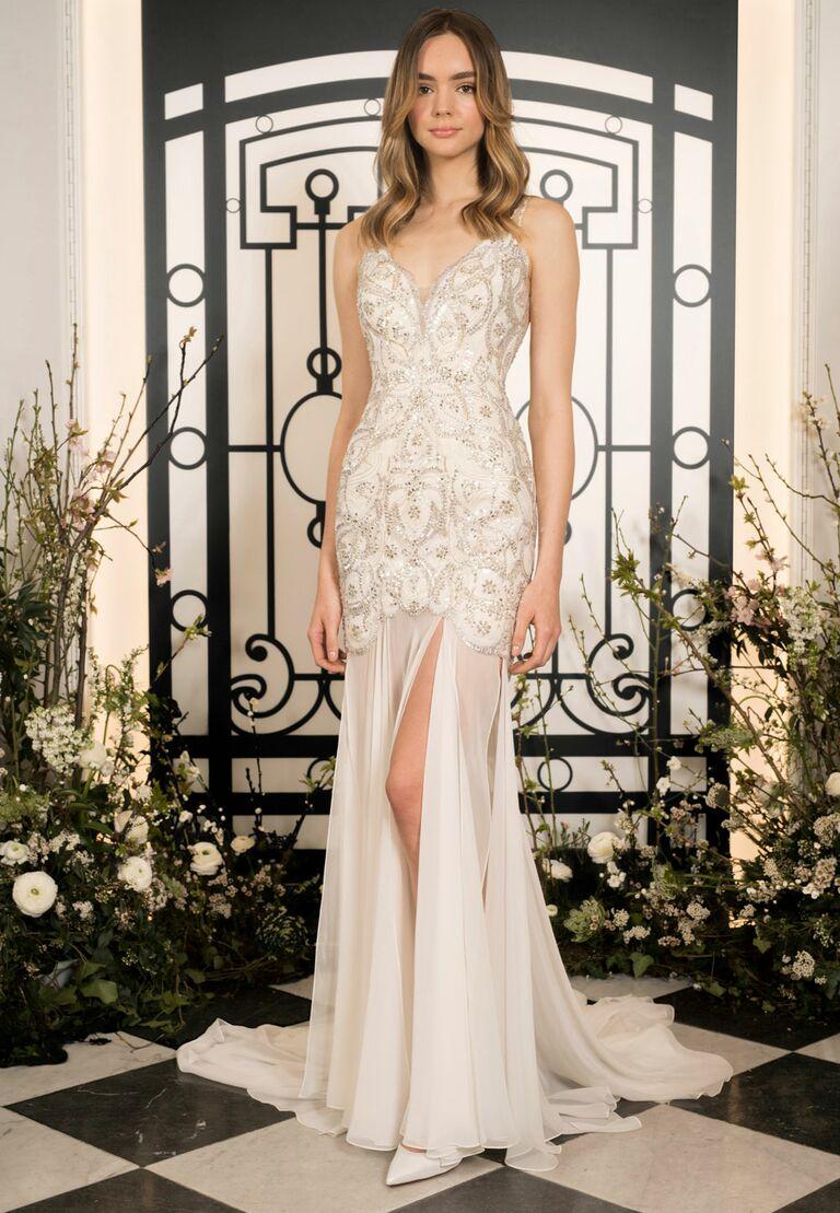 Jenny Packham beach wedding dress