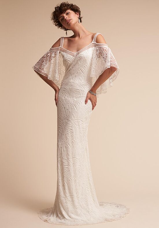 Bhldn kenna wedding dress the knot for The knot gift registry