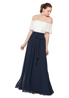 Bill Levkoff 7074 Off the Shoulder Bridesmaid Dress