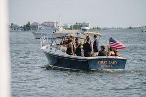 Post-Ceremony Wedding Party Harbor Cruise