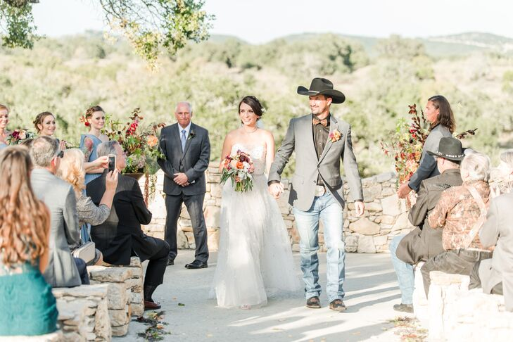 Rustic-Elegant Bride and Groom
