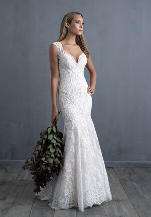Allure Couture C490 Sheath Wedding Dress