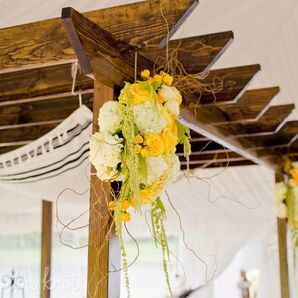 Floral Huppah Decor