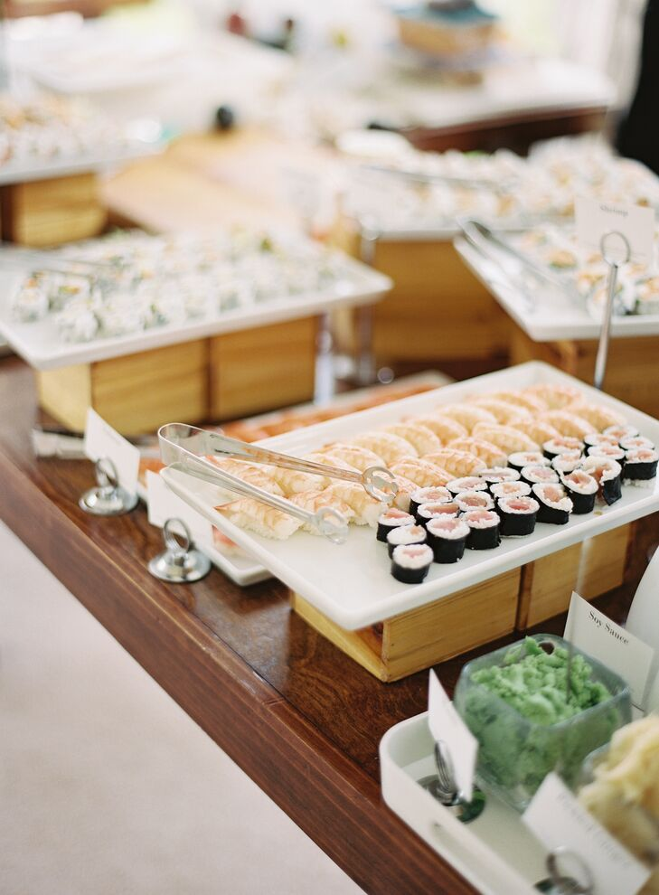 Reception Sushi Bar