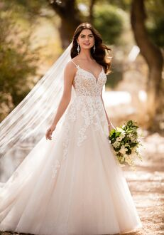 Essense of Australia D2363 A-Line Wedding Dress