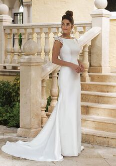 Sincerity Bridal 44081 Sheath Wedding Dress