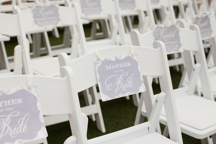 Reserved Ceremony Seating
