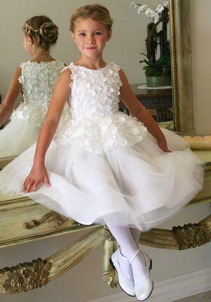 Isabel Garretón Fairy White Flower Girl Dress