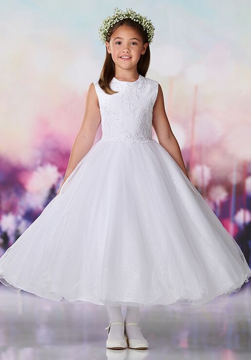 a59914ddee5 Joan Calabrese by Mon Cheri 119378 Flower Girl Dress - The Knot