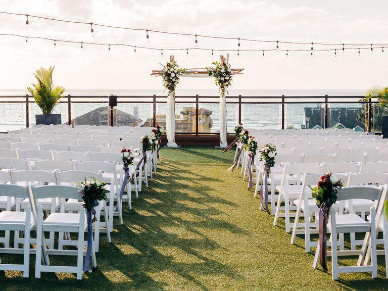 Wedding venue in Saint Pete Beach, Florida.