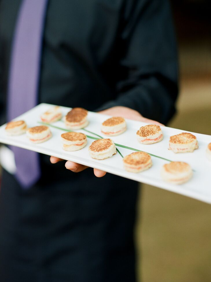 Mini Sandwiches as Passed Appetizers