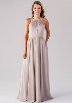 Kennedy Blue Erica Halter Bridesmaid Dress
