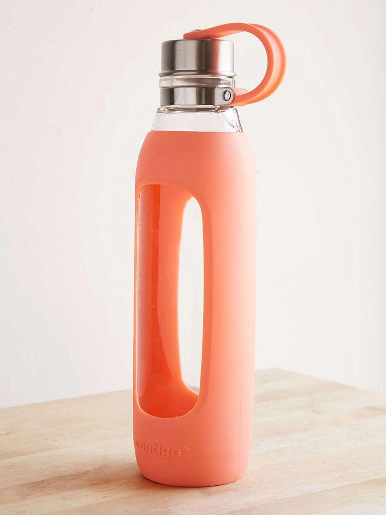 Glass water bottle registry idea