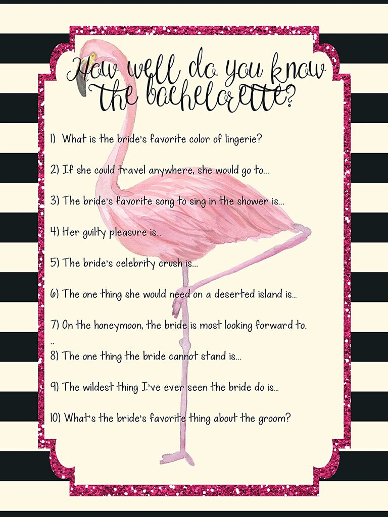 photograph relating to Free Printable Bachelorette Party Games referred to as 10 Straightforward (and Exciting!) Bachelorette Printables