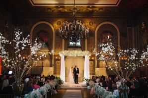 Hotel du Pont Gold Ballroom Ceremony