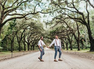 After the pandemic derailed Alex and Hunter's initial plans to tie the knot in Ohio, the couple rolled with the punches and decided to blend their bac