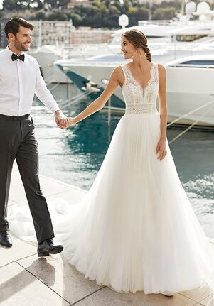 Aire Barcelona INARY A-Line Wedding Dress