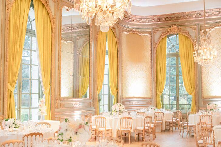 Glamorous Chateau Ballroom Reception