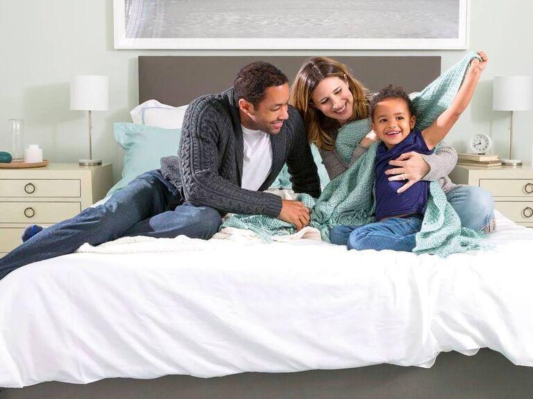 Family enjoying their Helix mattress