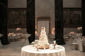 Glamorous Tiered Cake at The Nelson-Atkins Museum of Art in Kansas City, Missouri