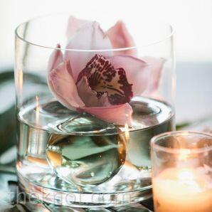 Simple Orchid Centerpiece