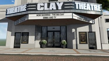 Clay Theatre Coming May 2019!