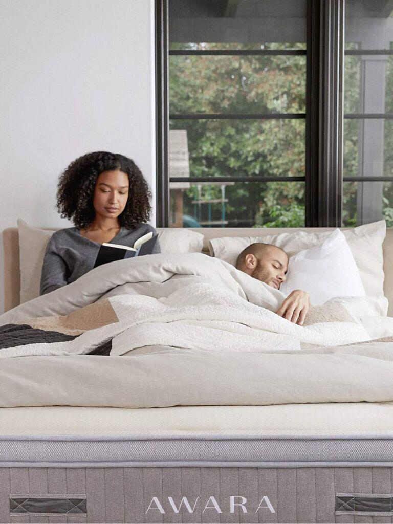 Awara eco-friendly mattress for couples