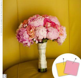 Wedding Color Combo: Pink + Yellow