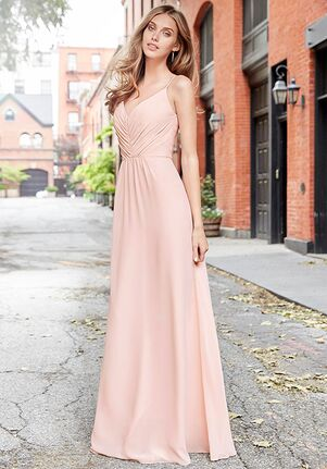Hayley Paige Occasions 5763 V-Neck Bridesmaid Dress