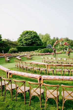 Outdoor Garden Ceremony Decor