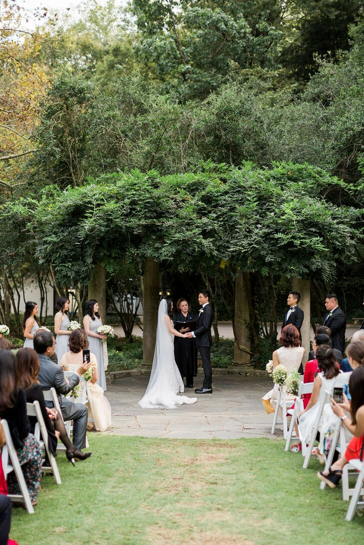 Wedding Ceremony at Cator Woolford Gardens in Atlanta