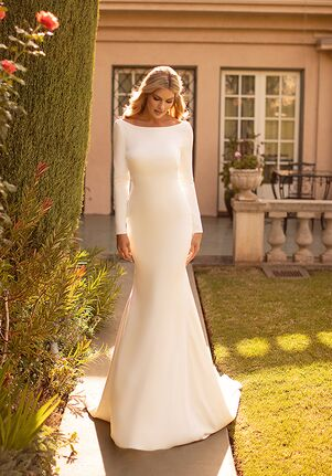 Moonlight Collection J6791 Mermaid Wedding Dress