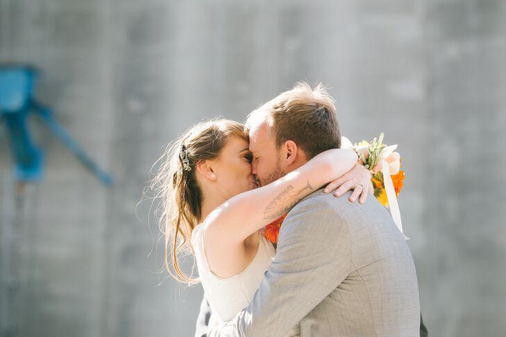 Bernice and Jason First Kiss
