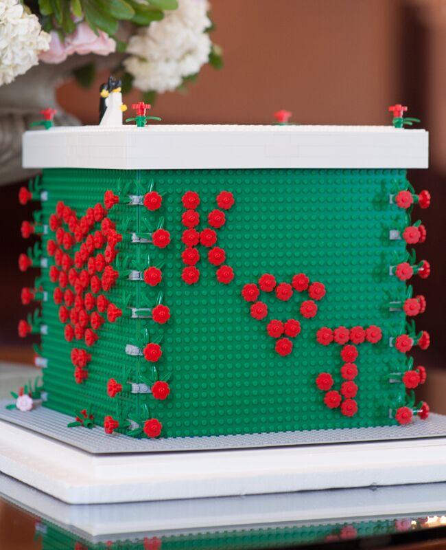 Lego wedding card box