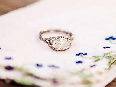 Vintage heirloom wedding ring