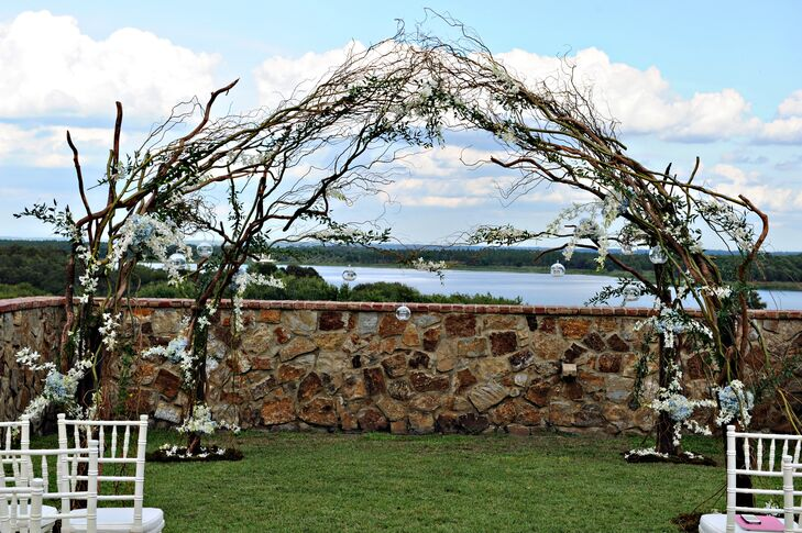 Branch and Floral Ceremony Decor