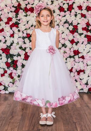 Kid's Dream 160C Black Flower Girl Dress