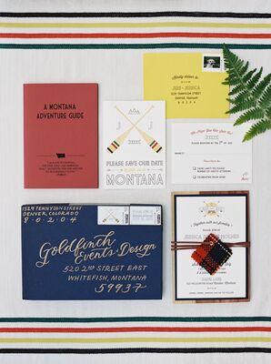 Montana-Themed Wedding Invitations