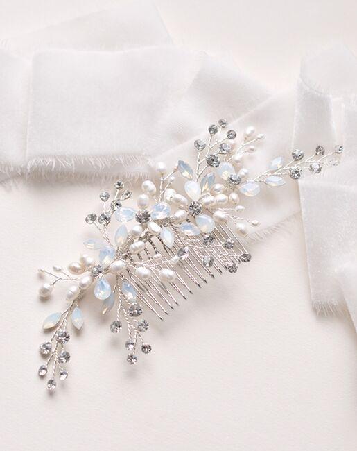 Dareth Colburn Olivia Opal Comb (TC-2415) Silver Pins, Combs + Clip