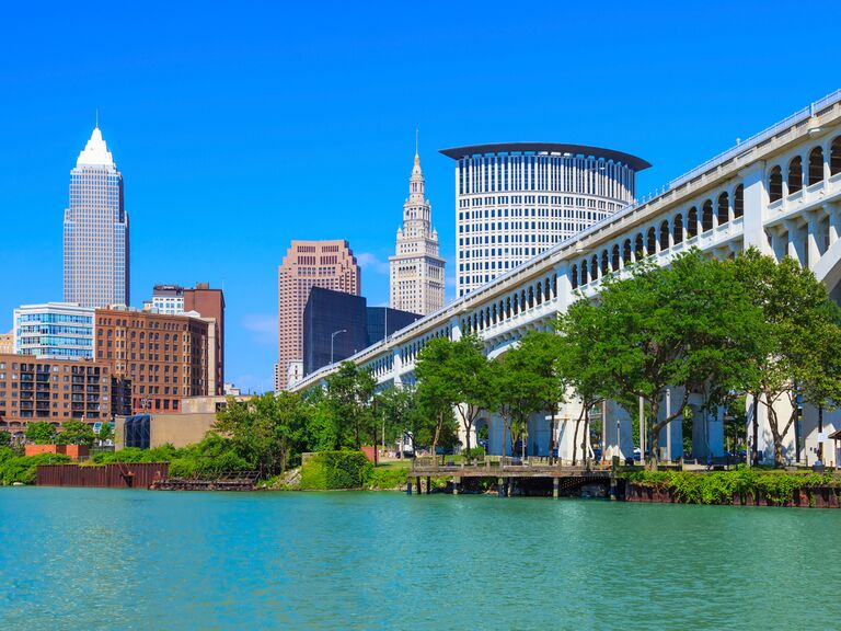 Cleveland waterfront