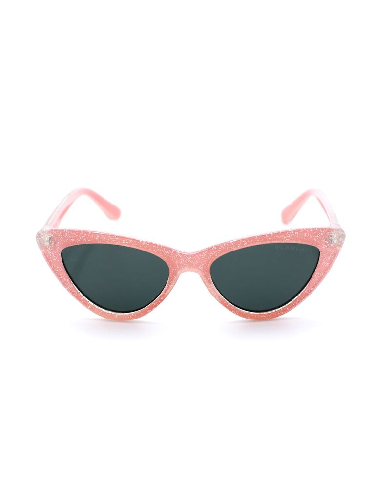 Cat eye sunglasses for flower girl