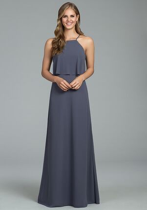 Hayley Paige Occasions 5807 Halter Bridesmaid Dress