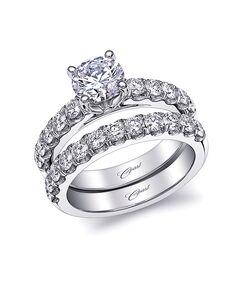 Coast Diamond Elegant Round Cut Engagement Ring