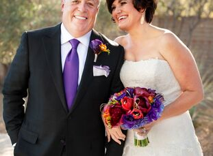 For their 10th wedding anniversary, Margie DeHaan (46 and a vice president of human relations) and Mike Summ