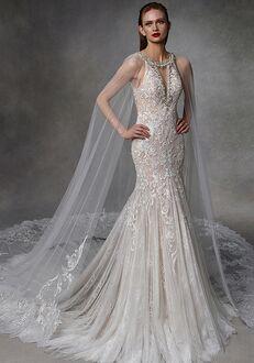 Badgley Mischka Bride Dot Mermaid Wedding Dress
