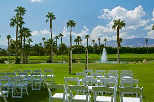 Wedding reception venues in palm springs ca the knot doubletree golf resort palm springs junglespirit Images