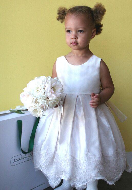 49830edd0e8 Isabel Garretón Chantilly Flower Girl Dress - The Knot