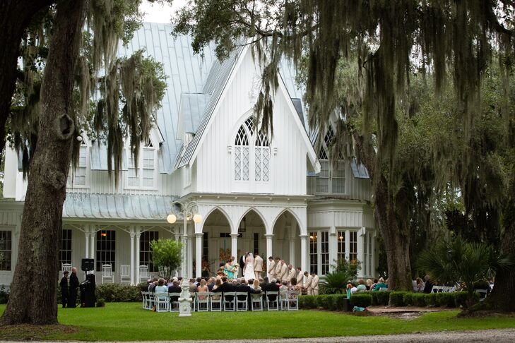 Rose Hill Mansion Romantic Southern Wedding Ceremony