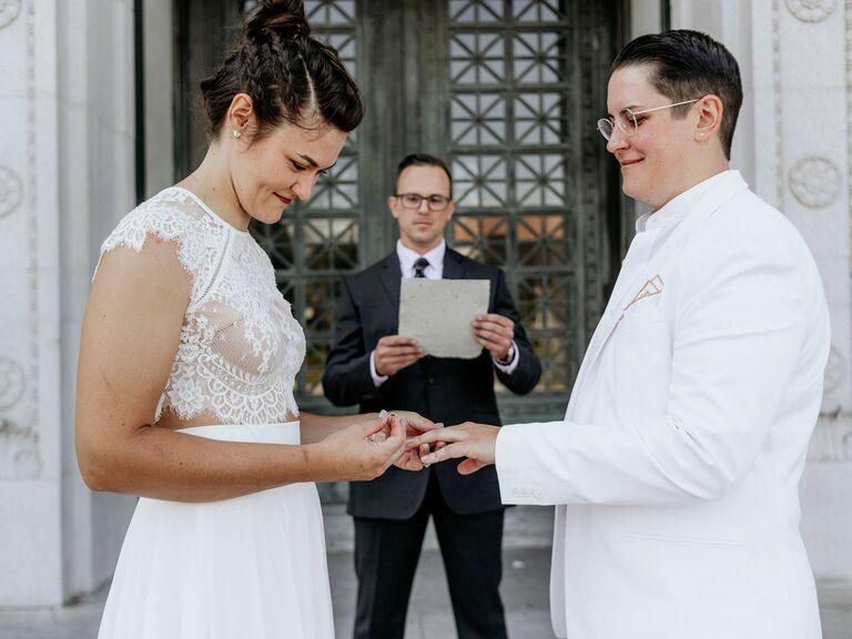 wedding officiant elopement