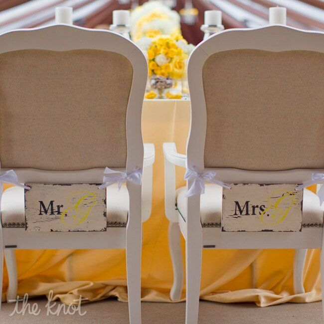 Rustic Chair Signs